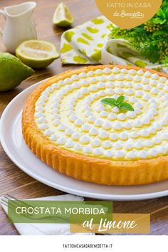 Confectionery, Sweet Recipes, Camembert Cheese, Tea Time, Cheesecake, Lemon, Cooking Recipes, Pie, Sweets