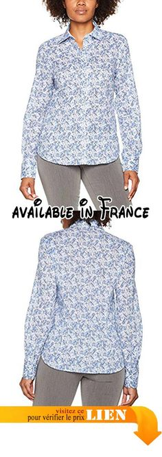 B071G3H17Y : eterna Comfort Fit Langarm Blau Bedruckt Mit Hemd-Kragen Blouse Femme Blau (Blau 16) 1 Mois. Ajustement sophistiqué. Good Shirt Made in Europe. Tradition et innovation depuis 1863. Confortable à porter Autonivelante. respirant: oui