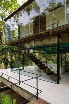 The Iporanga House by Nitsche Arquitetos Associados