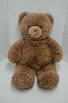 "Vintage Gund Karitas Tender Teddy Plush Bear Brown Jumbo 28"" 1983 #GUND"