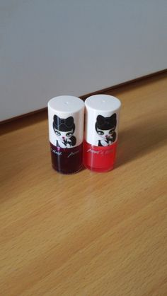 PeriPera Peri's Tint Lip and Cheek Tints. The cutest packaging and the pigmentation payoff is fantastic although I would recommend using them on the lips as opposed to the cheek if you are pushed for time as unless you are extremely fair/pale it can be difficult to get the colour to show up. I also wish the bottles weren't glass.