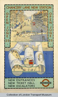 Chancery lane station 1934 (p26)