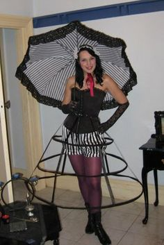 How to Make a Parasol from an Umbrella-- Submitted by Steampunk University Member Dianne Bachelor Miller
