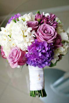 Wedding bouquet of Stephanie from raspberri cupcakes