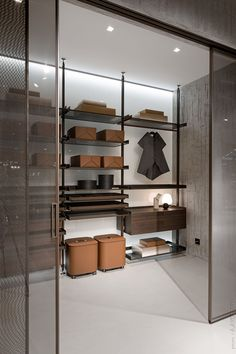 Luxury Walk-in Closet - Wardrobe closets Walk In Closet Design, Bedroom Closet Design, Wardrobe Design, Closet Designs, Master Bedroom, Luxury Interior Design, Interior Design Inspiration, Home Interiors And Gifts, Dressing Room Design