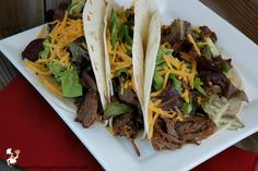 Food Truck Recipes: Crockpot Korean Tacos