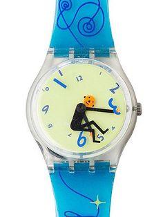 Vintage Swatch Weightless Watch