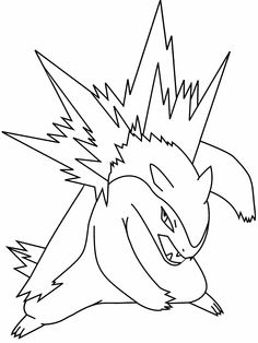 Pokemon pyroar coloring page at yes coloring decorating for Pyroar coloring pages