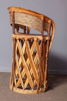 Set of 11 Mexican Origin Equipale Chairs 3