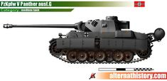 Tank Panther in the World of Man in a high castle by alternathistory on DeviantArt Army Vehicles, Armored Vehicles, Yamato Battleship, Heroes And Generals, High Castle, Military Armor, Tank Destroyer, Tank Design, World Of Tanks