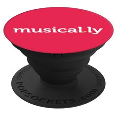 PopSockets Stand for Smartphones & Tablets - Musical.ly Letter Logo