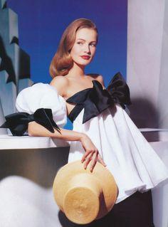 Christian Dior - early 90s - model Karen Mulder