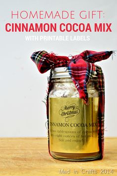 Homemade Cinnamon Cocoa Mix