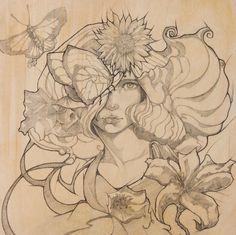 Talie by Evens Joseph, via Behance