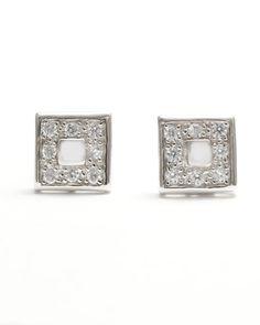 Pendientes de plata y circonitas Wedding Rings, Engagement Rings, Jewelry, Fashion, Jewels, Enagement Rings, Moda, Fashion Styles, Schmuck