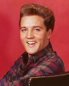 "Elvis Presley as a blonde for ""Kissin' Cousins"" (1964)"