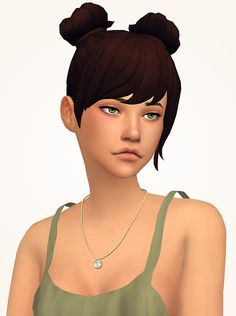The Sims 4 | Nyloa Gem necklace | CAS accessory new mesh female adult