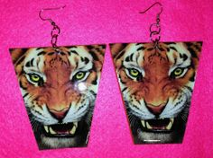 The Eye of the Tiger! How may I Customize you? Custom Earrings, Eye, Tattoos, Tatuajes, Tattoo, Tattos, Tattoo Designs