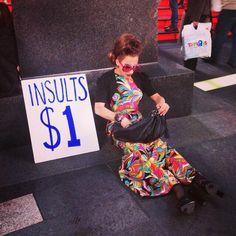 Bianca del rio: insults $1