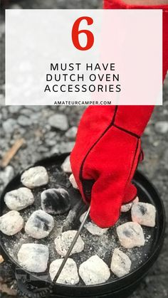 These 6 must have Dutch Oven accessories will soon have you acting like a pro as you master outdoor cooking. Dutch Oven Cooking, Gifts For Campers, Rv Trailers, Outdoor Cooking, Must Haves, Acting, Road Trip, Kitchen, Accessories
