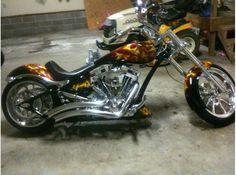 big dog mastiff motorcycle burning bens | Motorcycle 2007 Big Dog Motorcycles Bulldog , Realistic flame burning ...
