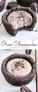 simple Oreo Cheesecake Cookie Cups are . - These simple Oreo Cheesecake Cookie Cups are … – … – room – -These simple Oreo Cheesecake Cookie Cups are . - These simple Oreo Cheesecake Cookie Cups are … – … – room – - Mini Desserts, Oreo Desserts, Easy Desserts, Oreo Treats, Oreo Cookie Recipes, Cook Desserts, Awesome Desserts, Plated Desserts, Recipes With Oreos