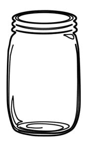 Free Mason Jar SVG File — Say It With Simplicity to do when bored crafts jar crafts crafts Diy Hanging Shelves, Diy Wall Shelves, Floating Shelves Diy, Wine Bottle Crafts, Mason Jar Crafts, Mason Jar Diy, Mason Jar Image, Chalk Paint Mason Jars, Painted Mason Jars