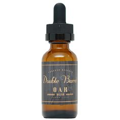 Double Barrel Tobacco Reserve Oak - A creamy blend of ry4 tobacco with undertones of caramel, vanilla, and hazelnut. 70% VG