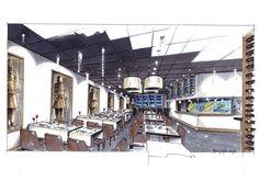 perspective - Hans Kuijten - Restaurant De Rijstfabriek Valkenswaard