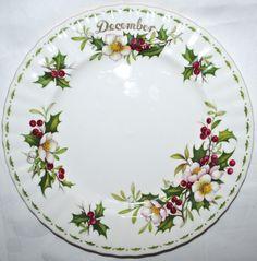 Ontbijtbord December - Royal Albert