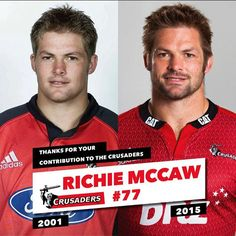 Tonight we pay tribute to five outstanding Crusaders, including Richie McCaw #thankyourichie #crusadeon