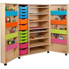 Bubblegum Art Cupboard £578 - Education Furniture