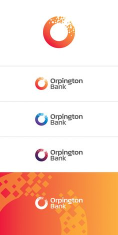 Very modern/bank feeling overall, pinning because I love the orange/red gradient - what do you think about that?