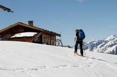 #Schneeschuhwandern - die neue Trendsportart für den Winter. Erklimmen Sie die schöne Natur auch im #Winter