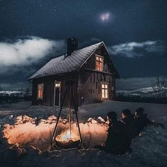 ~ Cozy night in the Swedish wilderness. Camping Car France, Camping 3, Winter Cabin, Cozy Cabin, Cabin Socks, Beautiful Places, Beautiful Pictures, Nature Pictures, Luxury Boat