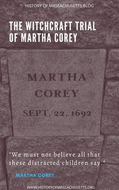Download Salem Witch Trials Victims Martha Carrier Free