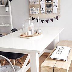 #Diningroom - #Eetkamer - #Scandinavioninterior - www.vanmariel.nl