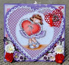 DP2 Challenge: Straight from the Heart Straight From The Heart, Mo Manning, Happy Thursday, Snow Globes, Challenges, Fun, Cards, Decor, Decoration