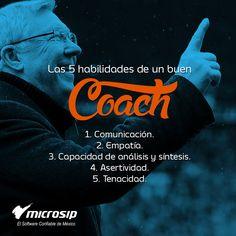 #TipsMicrosip Las 5 habilidades de un buen coach