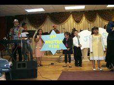 Children Service in  Congregacion Amor de Dios church EL Paso Texas