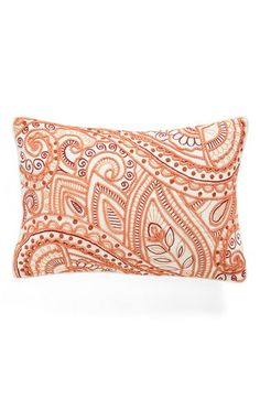 Free shipping and returns on Nordstrom at Home 'Plumeria' Accent Pillow at Nordstrom.com. Swirling paisley embroidery and intricate soutache embellishments lend cosmopolitan elegance to a breathtaking accent pillow.