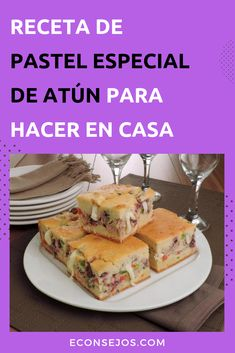 Tuna Cake (Quick and Easy! Tuna Cakes, Complete Recipe, Canapes, International Recipes, Margarita, Tapas, Buffet, Crockpot, Food And Drink