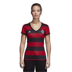 a primeira camisa feminina oficial do flamengo em parceria com a adidas  Originals chegou nas lojas e no e-FARM e é nossa! gueenta coração! 2c33ccc04068f