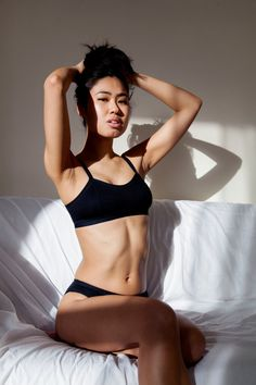 Black bamboo feminist lingerie by Neon Moon. Proudly showcasing women of colour in the lingerie industry. Let's represent the diversity of our community. Neon Moon, Ethical Shopping, Soft Bra, Black Lingerie, Sexy Hot Girls, Beautiful Celebrities, Fashion Brand, Bikinis, Swimwear