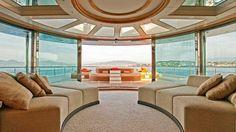 inside of mega yachts   Yogi – the yacht designed to be a floating resort