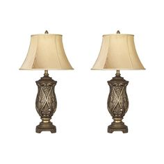 """Found it at Wayfair - Katarina 33.25"""" H Table Lamp with Bell Shade"""