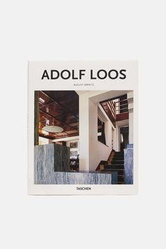 Adolf Loos  An early, impassioned advocate of modernism, Adolf Loos (1870–1933) rejected the grand Secessionist aesthetic in favor of simple, timeless designs with time-honored aesthetic and structural qualities. This essential introduction, part of Taschen's Basic Architecture series, explores Loos's writings, projects, and legacy.