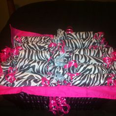 Sweet amp sparkly wedding candy buffet pictures to pin on pinterest - Zebra Print Party Favors With Candy Inside Using Toilet
