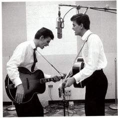 The Everly Brothers, Don and Phil.