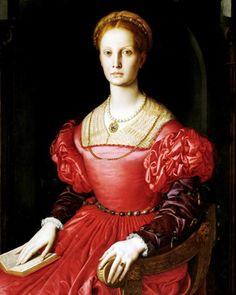 Lucrezia Panciatichi - Bronzino (1540)
